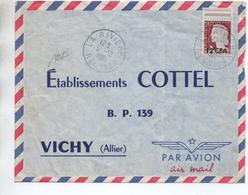 1961 - ENVELOPPE De LA RIVIERE (REUNION) - Storia Postale