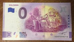 63 VULCANIA BILLET 0 EURO SOUVENIR 2020 ANNIVERSAIRE BANKNOTE BANK NOTE PAPER 0 EURO SCHEIN - Autres