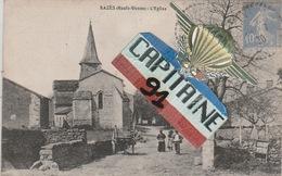 CPA RAZES HAUTE VIENNE L EGLISE - Other Municipalities