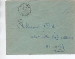 1961 - ENVELOPPE De BRAS PANON (REUNION) - Storia Postale