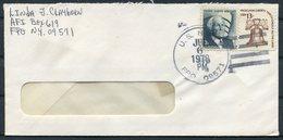 1978 Iceland USA FPO 09571 Fieldpost Military Cover - 1944-... Repubblica