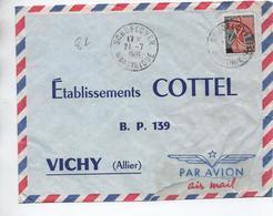 1961 - ENVELOPPE De SCHOELCHER (MARTINIQUE) - France