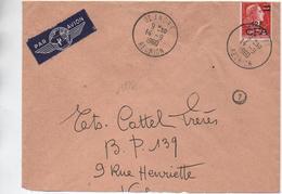 1960 - ENVELOPPE De SAINT ANDRE (REUNION) - Réunion (1852-1975)