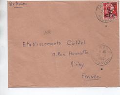 1960 - ENVELOPPE De TAMPON (REUNION) - Storia Postale
