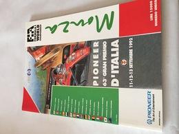 Programme OFFICIEL Du 63e Grand Prix D'ITALIE De F1 1992 - Automobile - F1