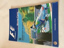 Programme OFFICIEL Du 53e Grand Prix De MONACO De F1 1995 - Automobile - F1