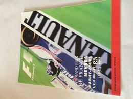 Programme OFFICIEL Du  Grand Prix De FRANCE De F1 1994 - Automobile - F1