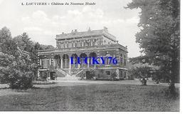 Louviers Chateau Du Nouveau Monde Tampon D'un Notaire Au Verso - Louviers