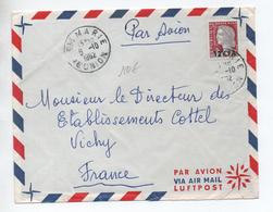 1962 - ENVELOPPE De SAINTE MARIE (REUNION) - Storia Postale