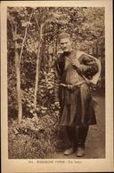 Cp Russische Typen, Ein Tartar, Tracht - Costumes