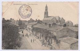 85 CHAMBRETAUD - Notre Dame De La Nativité. Vue Générale. Courrier De 1907. - Autres Communes