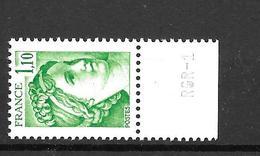 1979 - France -gandon / YT 2058 / MNH ** - 1977-81 Sabine (Gandon)