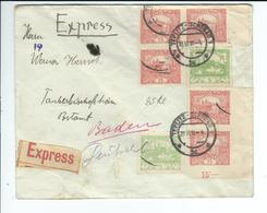 CSR, 1919,cover Express To Germany , #a1270 - Czechoslovakia