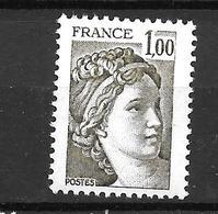 1979 - France -gandon / YT 2057 / MNH ** - 1977-81 Sabine (Gandon)