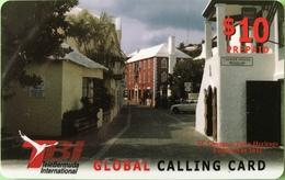 BERMUDES  -  Prepaid  -  St George's Town Heritage -  $ 10 - Bermuda