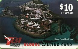 BERMUDES  -  Prepaid  -  TBI - Royal Naval Dockyard  - $ 10 - Bermuda
