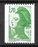 1984- France -liberté De Gandon / YT 2321 / MNH ** - 1982-90 Liberté (Gandon)
