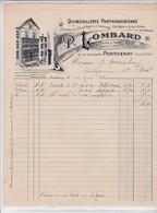 79-P.Lombard...Quincaillerie Parthenaise...Parthenay..(Deux-Sèvres)..1932 - Old Professions