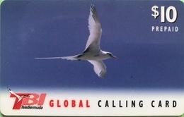 BERMUDES  -  Prepaid  -  TBI - Bird  -  $ 10 - Bermudes