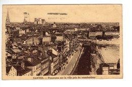 Nantes Panorama Sur La Ville Pris Du Transbordeur - Nantes