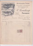79-R.Beauchamp...Quincaillerie-Fontes..Parthenay..(Deux-Sèvres)..1915 - Old Professions