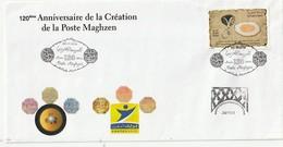 Maroc. Enveloppe Philatélique 1er Jour émise Par L'Association De Marrakech. 120è Anniversaire Poste Maghzen 2012. - Morocco (1956-...)