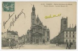{21137} 75 Paris , Saint Etienne Du Mont , Tour Clovis , Lycée Henri IV ; Animée - Iglesias