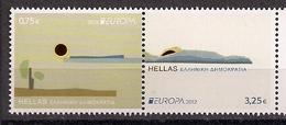 2012 Griechenland Gréce  Mi. 2671-2 **MNH   Europa - Europa-CEPT