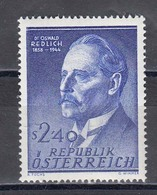 Austria 1958 - Oswald Redlich, Mi-Nr. 1056, MNH** - 1945-.... 2nd Republic