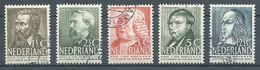 Pays-Bas YT N°318/322 Oeuvres Sociales Oblitéré ° - Periode 1891-1948 (Wilhelmina)