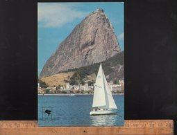RIO DE JANEIRO Brasil : Pao De Açucar / Sailing Boat Bateau à Voile Voilier - Rio De Janeiro