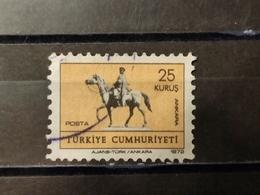 1972, TURCHIA, Statua Equestre Di Mustafa Kemal Atatürk Ad Ankara - Gebruikt