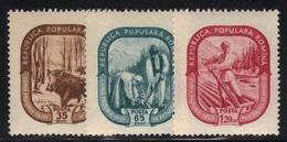 Roumanie 1955 Yvert 1370/72 Neufs** MNH (AB32) - 1948-.... Repubbliche