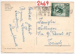 Cartolina Con Bollo III Censimento Annullo A Targhetta ( 227 ) - 6. 1946-.. Repubblica