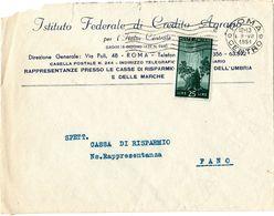 Busta Bancaria Con L 25 Democratica ( 227 ) - 6. 1946-.. Repubblica