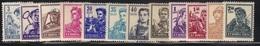 Roumanie 1955/56 Yvert 1382/93 Neufs** MNH (AB32) - 1948-.... Repubbliche