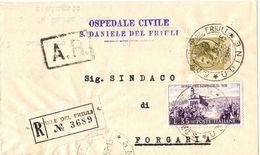 Piego Ospedaliero Raccomandato A.R. S.Daniele -> Sindaco Forgaria ( 227 ) - 6. 1946-.. Repubblica