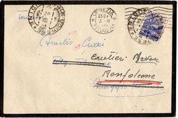 Lettera Destinatario Militare  L 6 Democratica Isolato ( 227 ) - 6. 1946-.. Repubblica