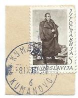 CUT OF LETTER - Yugoslavia.Macedonia Kumanovo 1953 - 1952 The 60th Anniversary Of The Birth Of Josip Broz Tito - Covers & Documents