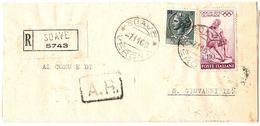 Piego Ospedaliero Raccomandato AR   Ospedale Soave -> S. Giovanni IL. ( 227 ) - 6. 1946-.. Repubblica