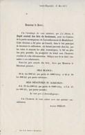 Courrier 1872 / Tarif Sels Blancs, Sels Dénaturés & Agricoles / Gouhenans / 70 Haute-Saône - 1800 – 1899