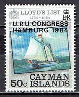 Kaiman Inseln / Cayman Islands - Mi-Nr 531 Postfrisch / MNH ** (v704) - Schiffe