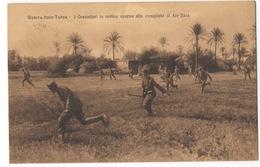 Cartolina - Postcard, Non Viaggiata (unsent), Guerra Italo-Turca, Granatieri Alla Conquista Di Ain-Zara - Guerres - Autres