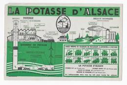 BUVARD      LA  POTASSE   D'ALSACE     24 X  15,5   VOIR SCAN - Buvards, Protège-cahiers Illustrés