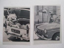 Peugeot 404  - Vvie Quotidienne Conductrice - 2 Coupures De Presse De 1960 - Voitures