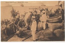 Cartolina - Postcard, Non Viaggiata (unsent), Guerra Italo-Turca, Sbarco Delle Truppe - Guerres - Autres