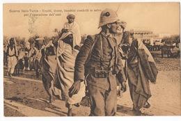 Cartolina - Postcard, Non Viaggiata (unsent), Guerra Italo-Turca, Vecchi, Donne E Bambini Condotti In Salvo - Guerres - Autres