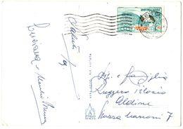 CartolinaVenezia Con Bollo L 10 Olimpiadi Cortina  ( 227 ) - 6. 1946-.. Repubblica