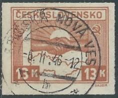 1945 CECOSLOVACCHIA USATO AMICIZIA CON URSS 13 KR - RC20-7 - Usati
