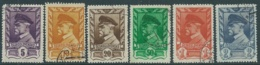 1945 CECOSLOVACCHIA USATO PRESIDENTE TOMAS GARRIGUE MASARYK 6 VALORI - RC20-9 - Usati